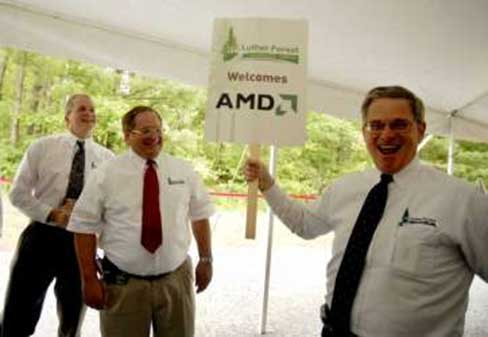 Advanced Micro Devices (AMD) has committed to building state of the art chip fabrication plant in nearby Malta, at the Luther Forest Technology Campus.